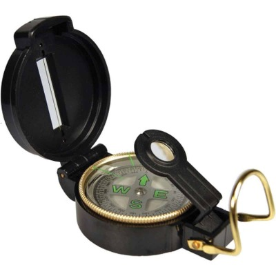 UST 3 In. Acrylic Lensatic Compass