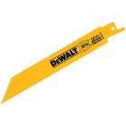DeWalt 6 In. 14 TPI Thick Metal Reciprocating Saw Blade (5-Pack) Image 1