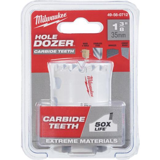 Milwaukee Hole Dozer 1-3/8 In. Hole Saw with Carbide Teeth
