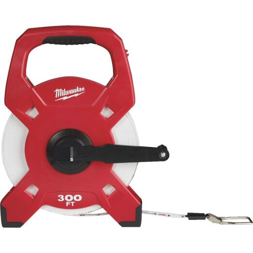 Milwaukee 300 Ft. Fiberglass Open Reel Tape