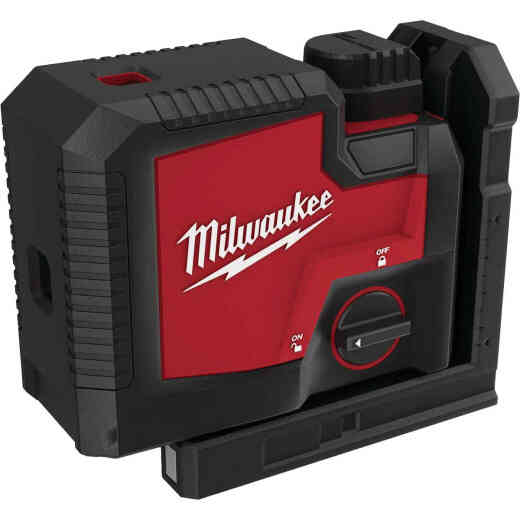 Milwaukee USB Rechargeable Green 3-Point Laser