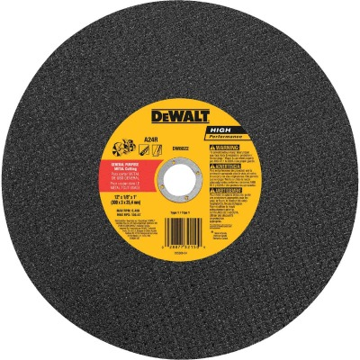 DeWalt HP Type 1 14 In. x 1/8 In. x 1 In. Metal Cut-Off Wheel