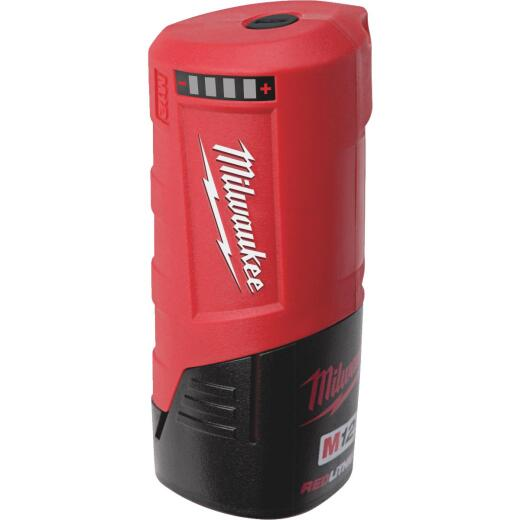 Milwaukee M12 12 Volt Lithium-Ion USB Power Source (Bare Tool)