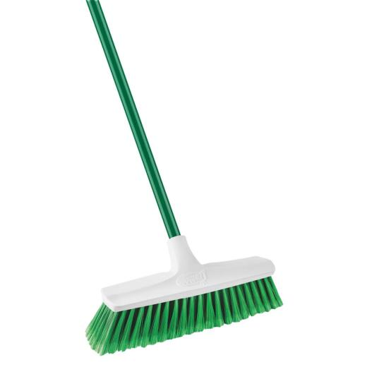 Libman 13 In. W. x 54 In. L. Steel Handle Smooth Sweep Push Broom